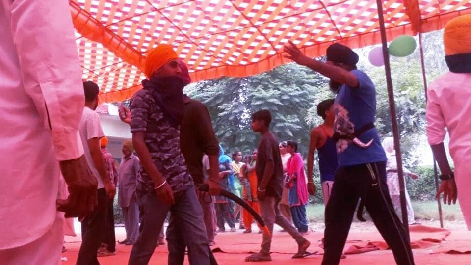 It was first face-off between Sikh radicals and dera followers after the Captain Amarinder Singh-led Congress government took over reins of the state.