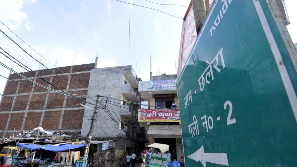 Noida,village,naming streets
