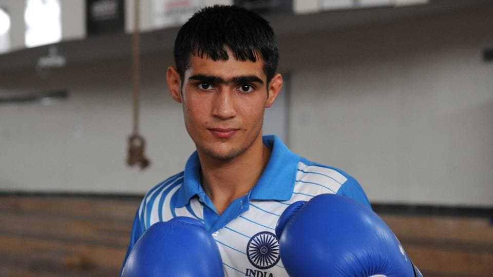 Boxer Sachin Siwach clinched the gold medal in light flyweight (49kg) category at the Youth Commonwealth Games.