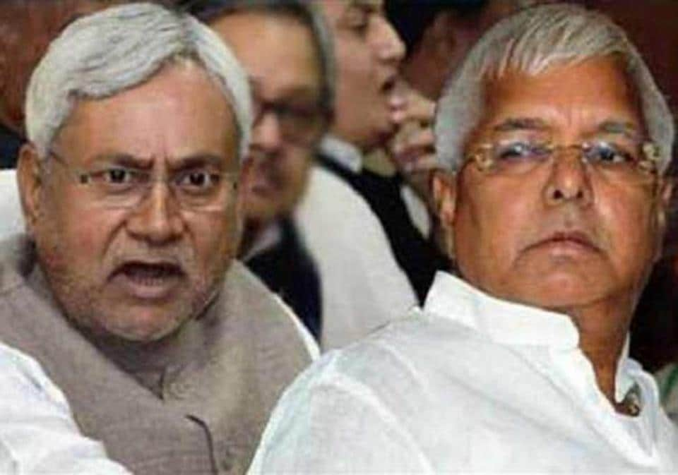 Differences between CMNitish Kumar and RJD chief Lalu Prasad spell bad omen for grand alliance.