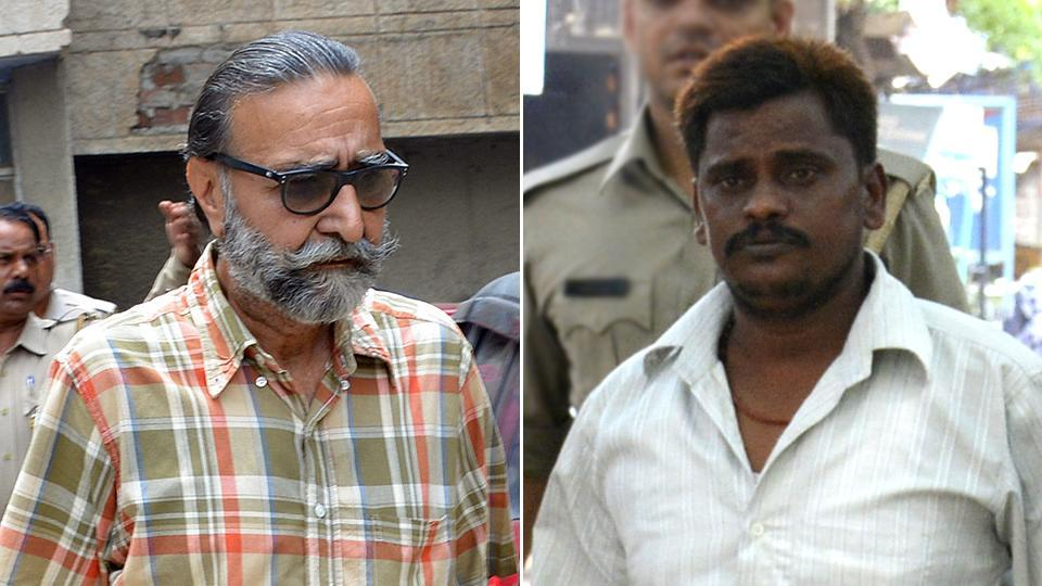 Prime accused Surinder Koli (right) and businessman Moninder Singh Pandher were held guilty by CBI court in Ghaziabad for murder of 20-year-old Pinki Sarkar.