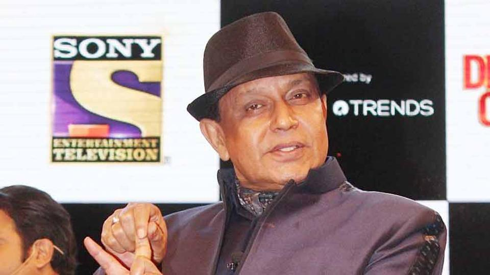 Actor Mithun Chakraborty is back on the small screen with The Drama Company.