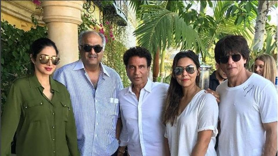 Shah Rukh Khan takes time off for a family holiday.