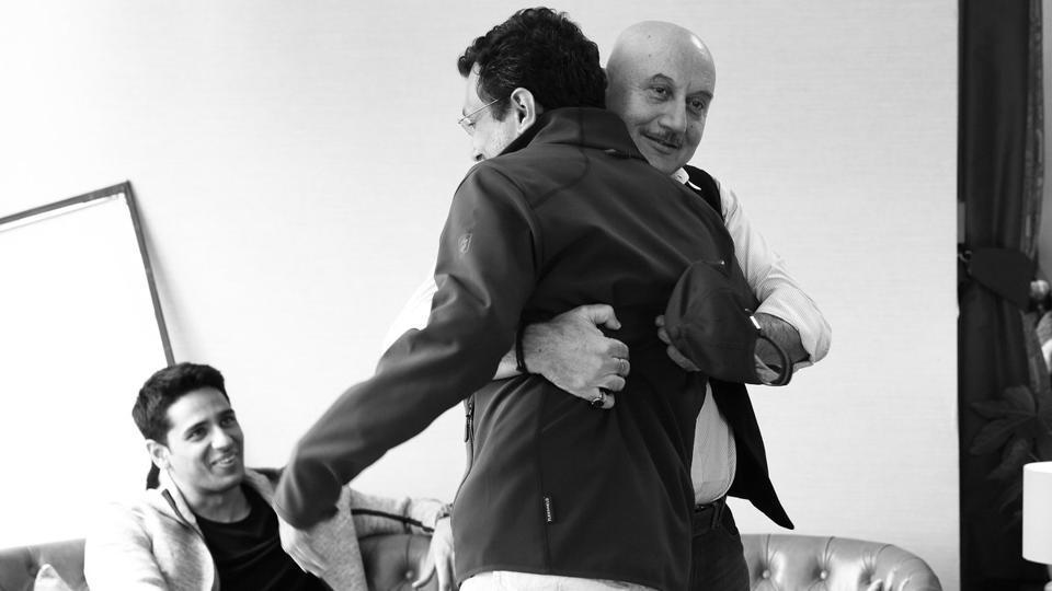 Anupam Kher,Neeraj Pandey,Aiyaary