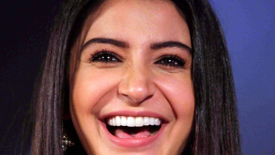 Anushka Sharma during the trailer launch of Jab Harry Met Sejal.
