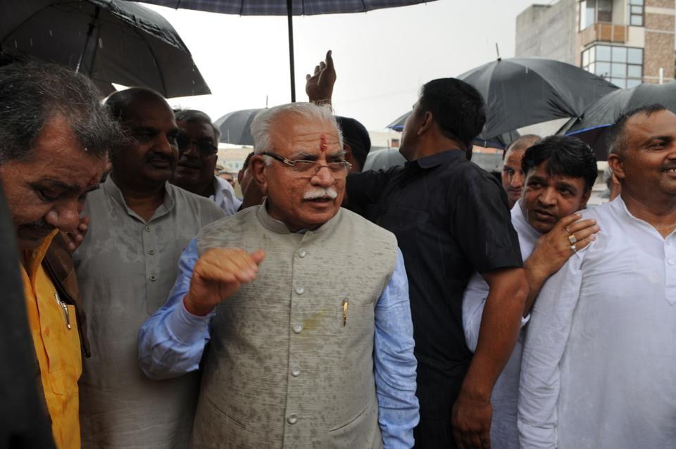 Gurgaon,Hero Honda chowk,Manohar Lal Khattar
