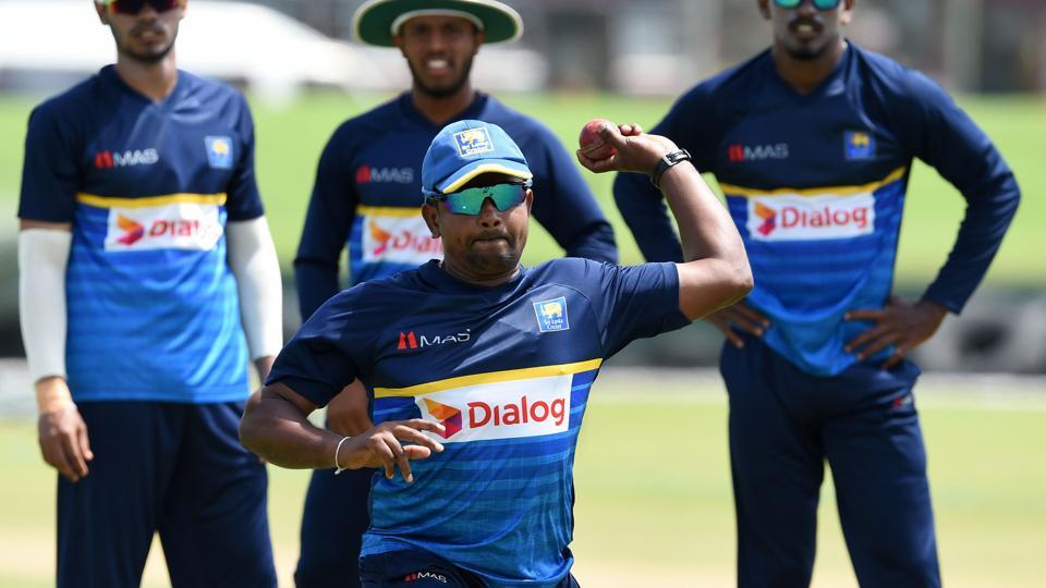 Rangana Herath is the spin spearhead of Sri Lanka and the hosts would hope the senior bowler to excel. (AFP)