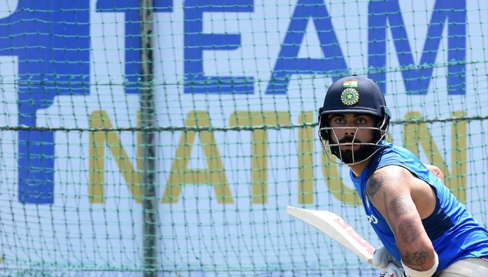 Virat Kohli's first win as India captain, in an overseas Test series, came in Sri Lanka.  Now he is gearing up for another series against SL, starting on July 26. (AFP)