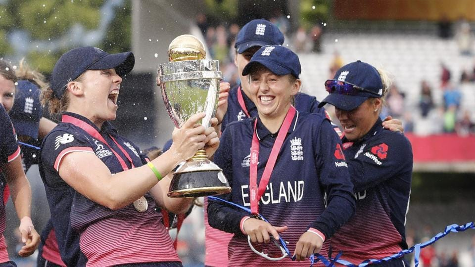 England had won the ICC Women's World Cup for the third time as hosts while India lost for the second time in a final. (AFP)