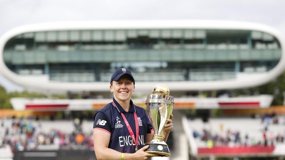 England are now only behind Australia for the number of ICC Women's World Cup title. (AFP)