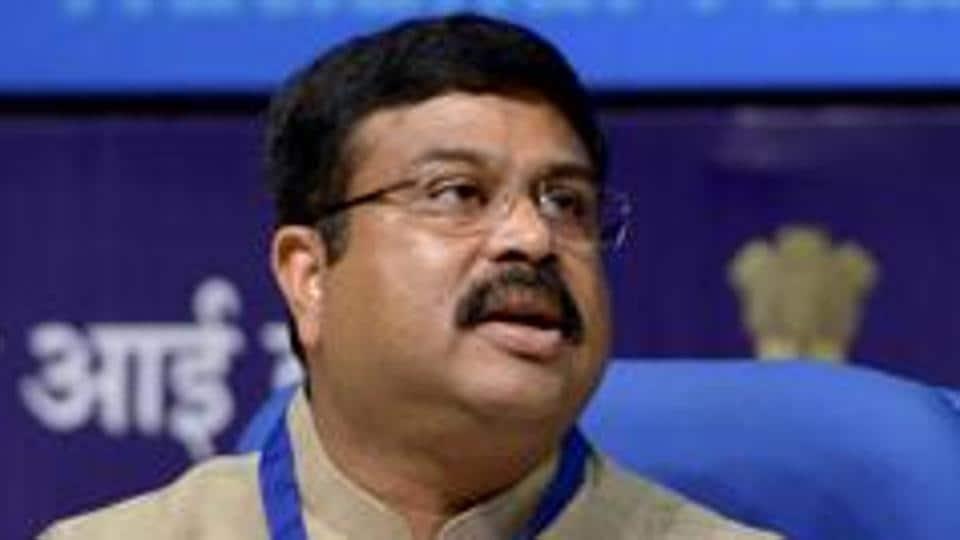 Petroleum minister Dharmendra Pradhan.