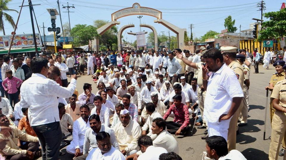 mumbai news,farmer protests,maratha protests