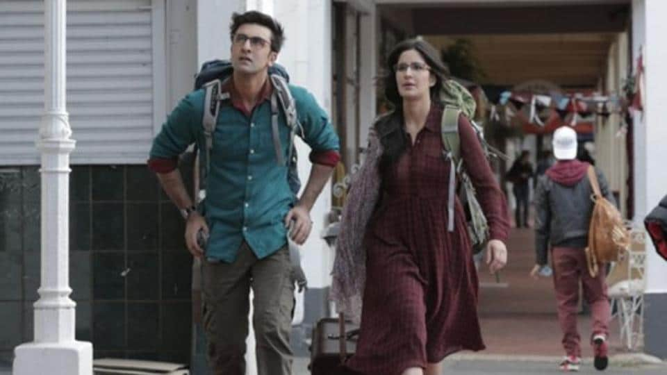 Ranbir Kapoor and Katrina Kaif in a still from Jagga Jasoos.