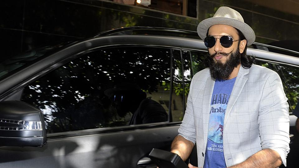 Ranveer Singh and his quirky fashion sense go hand in hand.