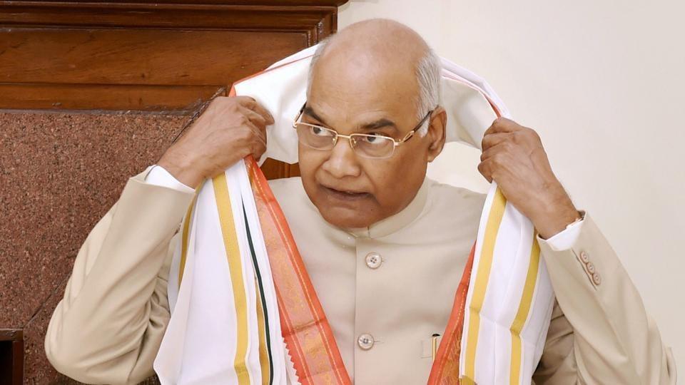 President,ramnath kovind,education