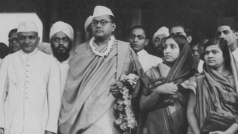 An archival image of Netaji Subhas Chandra Bose.