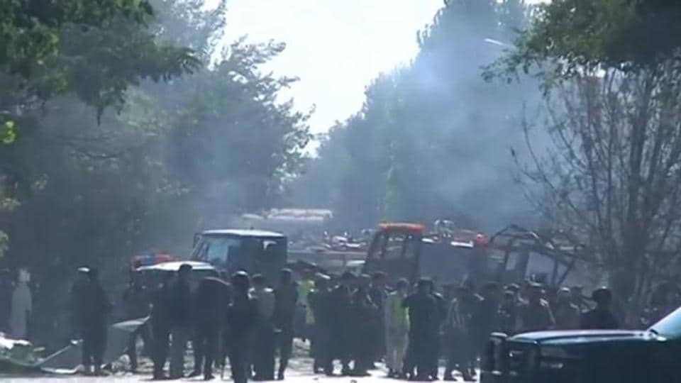 The Taliban have said they carried out the attack. Kabul has seen a number of deadly attacks this year blamed on the Taliban or so-called Islamic State. (Reuters)