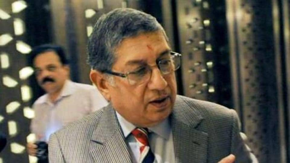 N.Srinivasan has been barred by the Supreme Court from attending BCCI meetings and will not be able to attend the Special General Meeting on July 26.