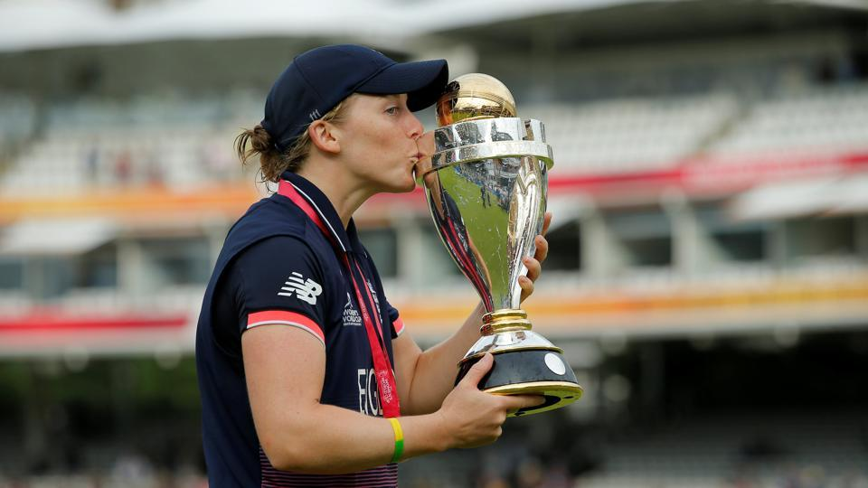 Heather Knight, who was captaining England for the first time in a World Cup, had success. (Action Images via Reuters)