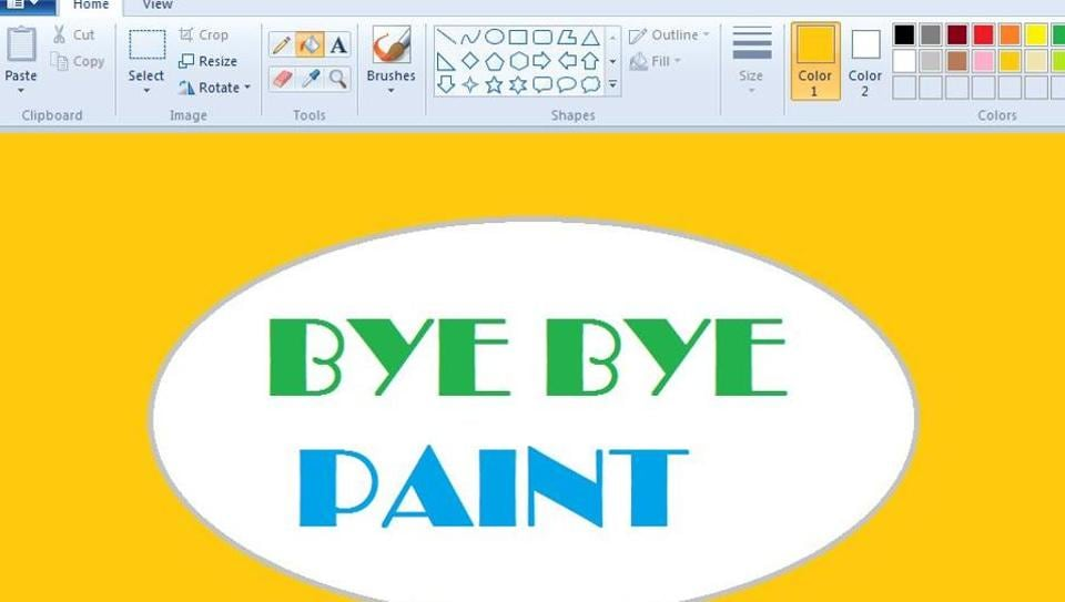 Paint was among applications installed by default on Windows-powered personal computers and drew a strong following.