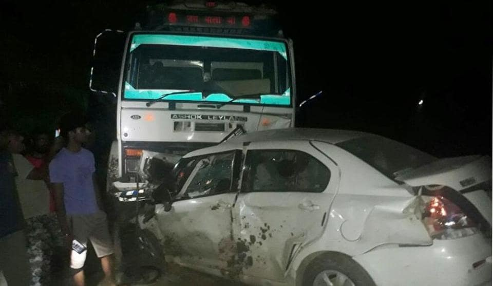 Road accident,Fazilka,Punjab