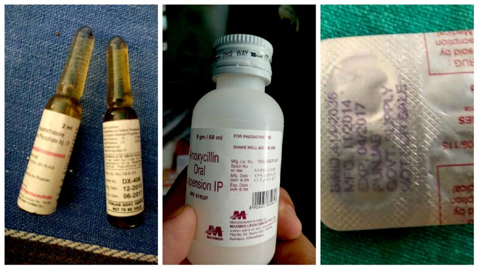 A National Health Mission (NHM) team found medicines with expiry dates of February, April and June this year in stock at the Adolescent Reproductive and Sexual Health (ARSH) clinic.