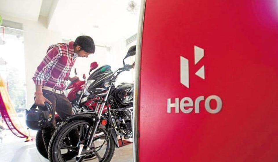Hero MotoCorp reported a 3.5% increase in profit after tax for the June-quarter.