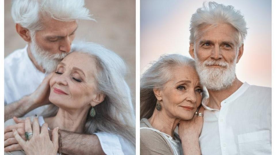Irina Nedyalkova,elderly couple's,Sergei and Valentina