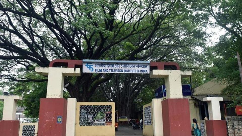 Film and Television Institute of India building in Pune.