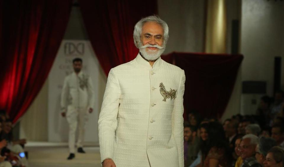 Sunil Sethi, president, Fashion design Council of India.