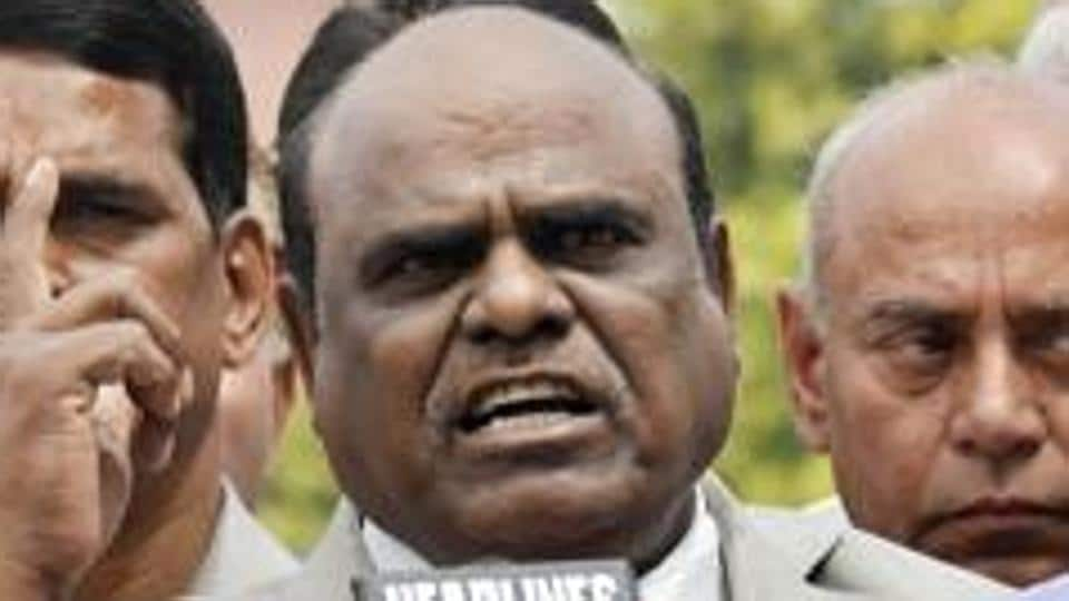 CSKarnan evaded arrest after a six-month jail term was imposed on him by a seven-judge bench of the Supreme Court. He was arrested from Coimbatore in Tamil Nadu on June 20.