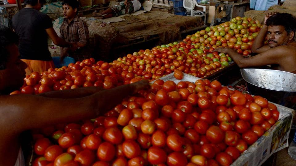 Local vendors are selling tomatoes in the Rs 80-100/kg depending on the quality, PTI reported.