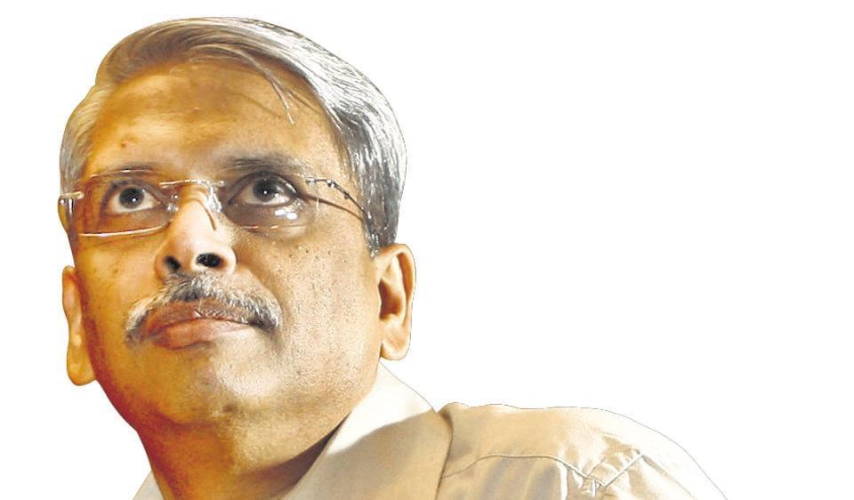 Former CEO of Infosys, Kris Gopalakrishnan.