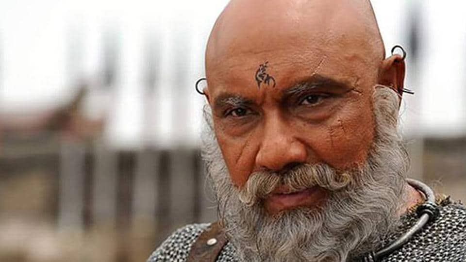 Sathyaraj played Kattappa in Baahubali franchise.