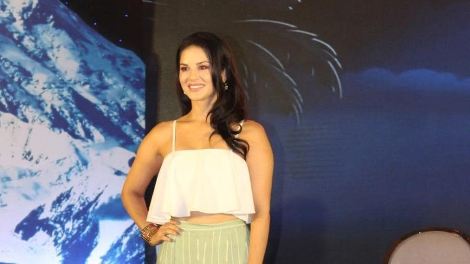 Sunny Leone during a programme in Mumbai on July 22.
