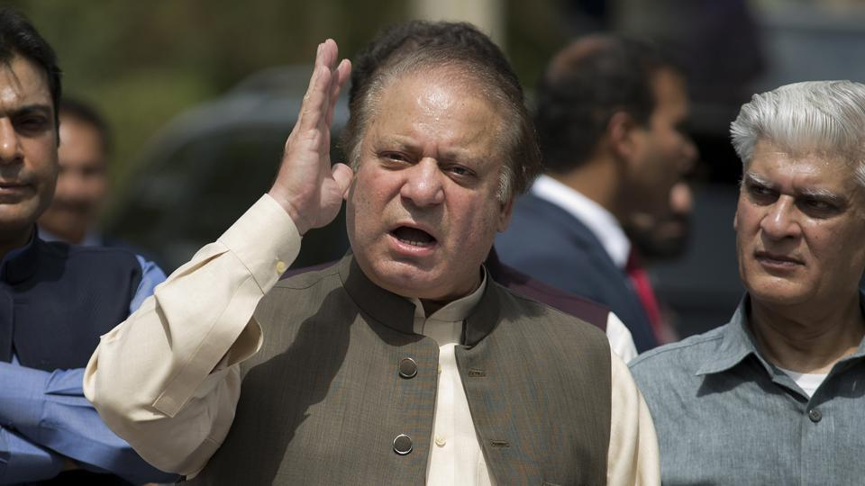 Image result for Sharif accuses India of harming Saarc