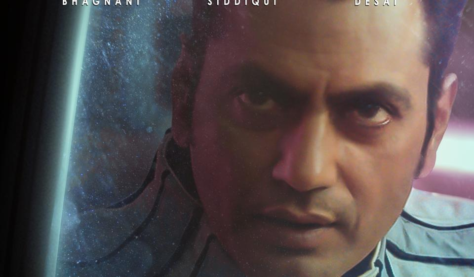 Nawazuddin Siddiqui on the poster of Carbon.