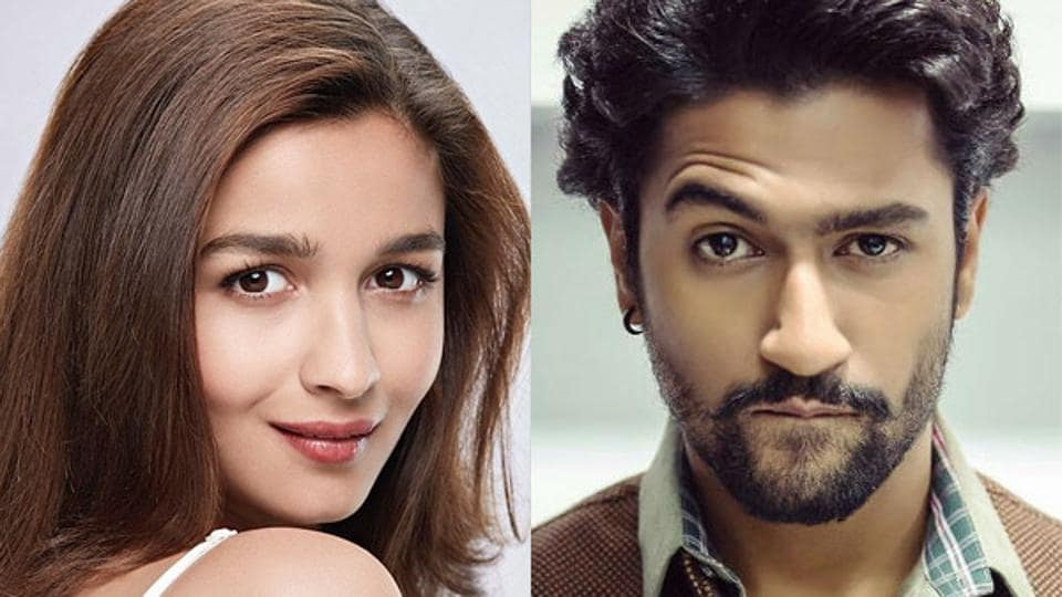 Alia Bhatt and Vicky Kaushal team up for the first time in Raazi.