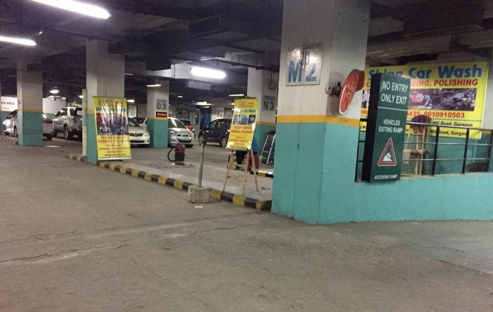 The rules stipulate that basements at city malls could ony be used for parking.