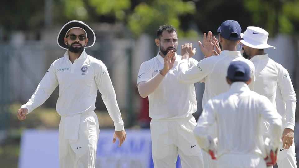 India leave Sri Lanka reeling at stumps on Day 2 class=