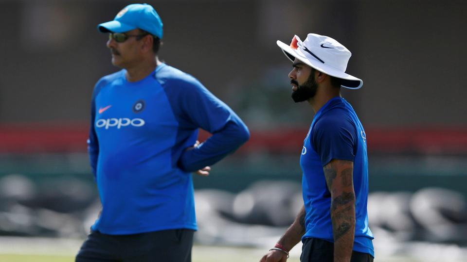 Team India, led by Virat Kohli, would hope to leave all the recent controversies behind under new coach Ravi Shastri, as they play Sri Lanka.  (REUTERS)