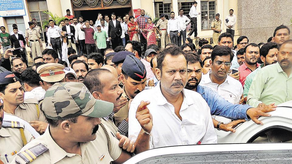 The arrest of MP Udayanraje Bhosale had brought Satara to a complete standstill.
