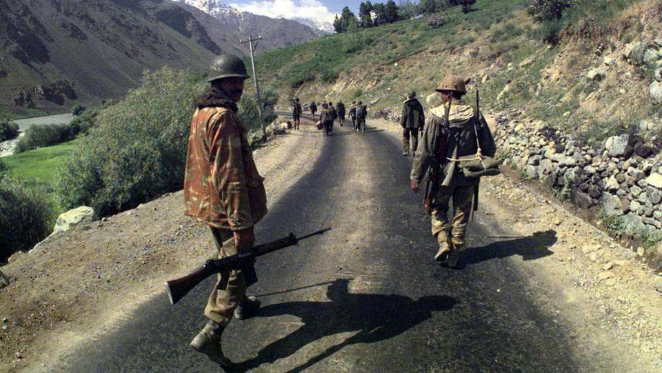 Preliminary investigations by the Indian Army into reports of infiltrations along Batalik sector revealed that tactics and firepower being used were unlike those associated with insurgents and further reports of incursions along Dras Mushkoh and Kaksar