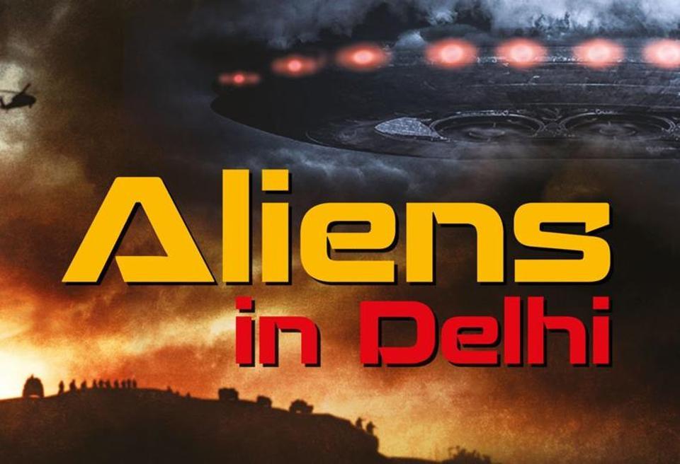 Aliens in Delhi,Sami Ahmad Khan,Niyogi Books