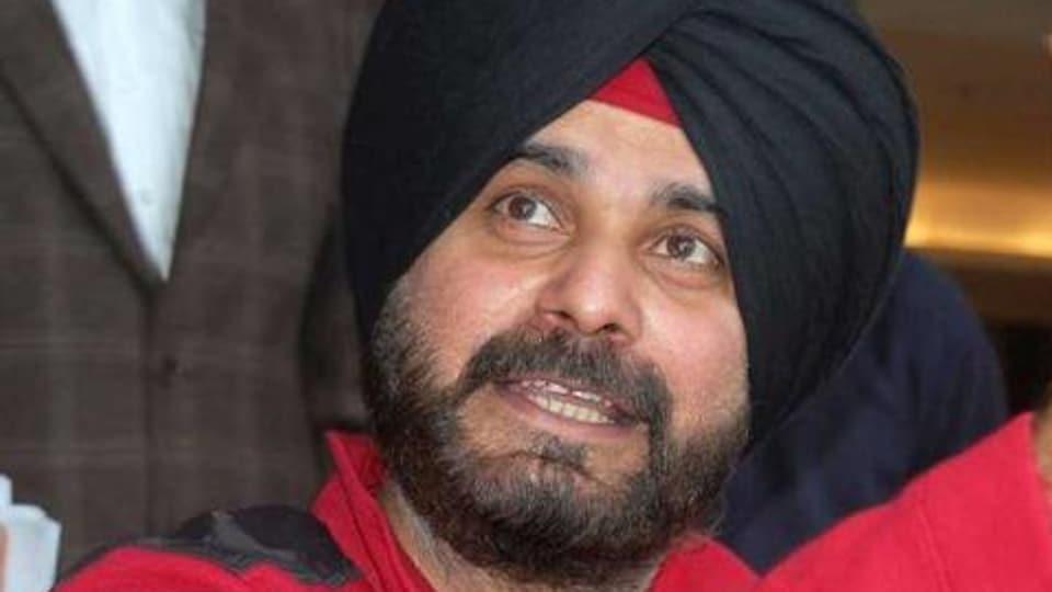 Punjab local bodies minister Navjot Singh Sidhu,Punjab,fire