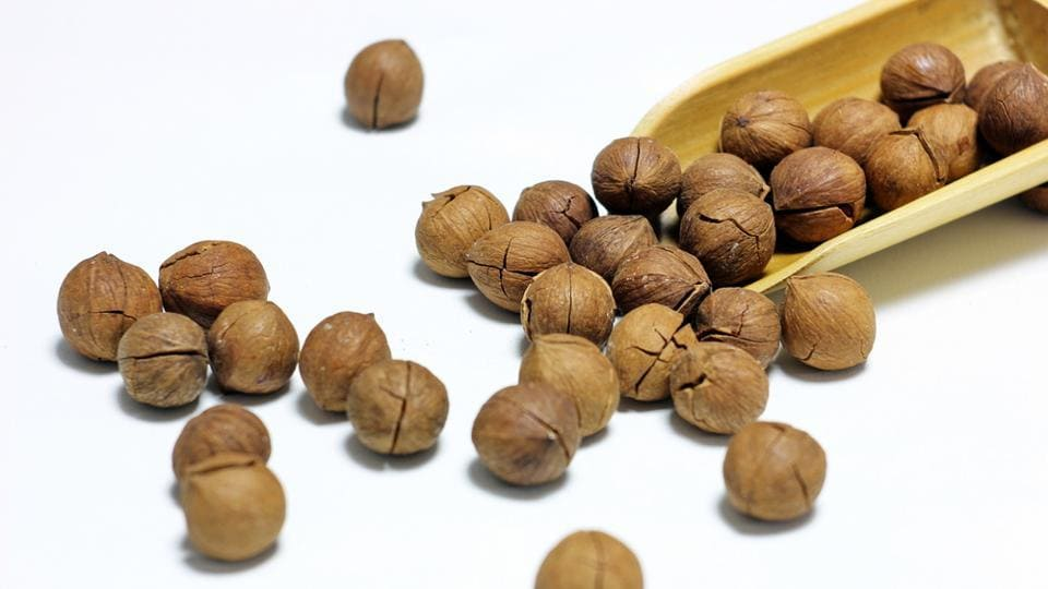 Walnuts act as a probiotic to help nourish and grow the bacteria that keeps the digestive system healthy.