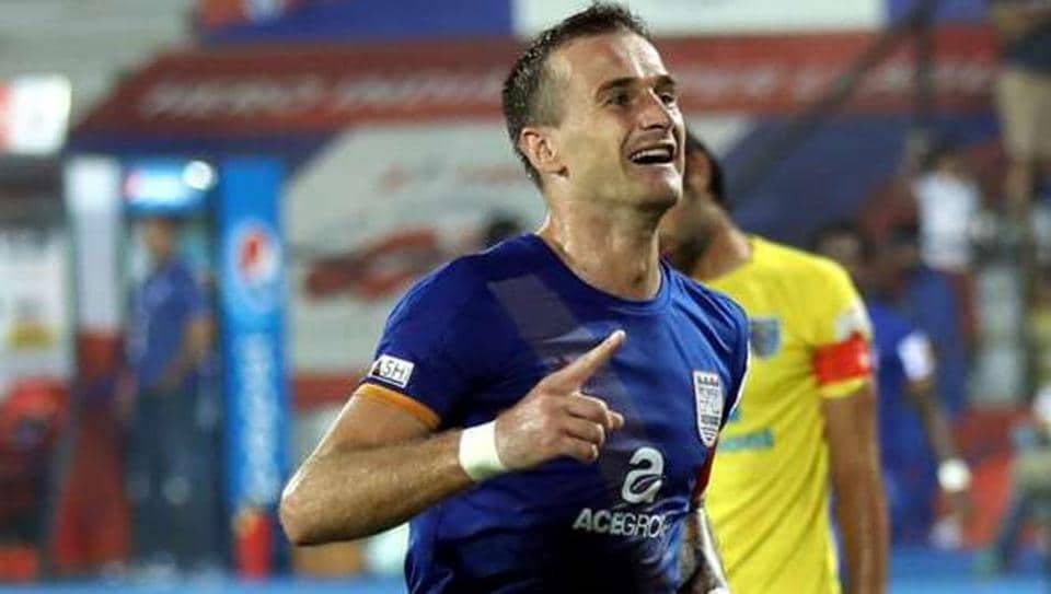 Lucian Goian was one of the best performers for Mumbai City FC in last season's Indian Super League.