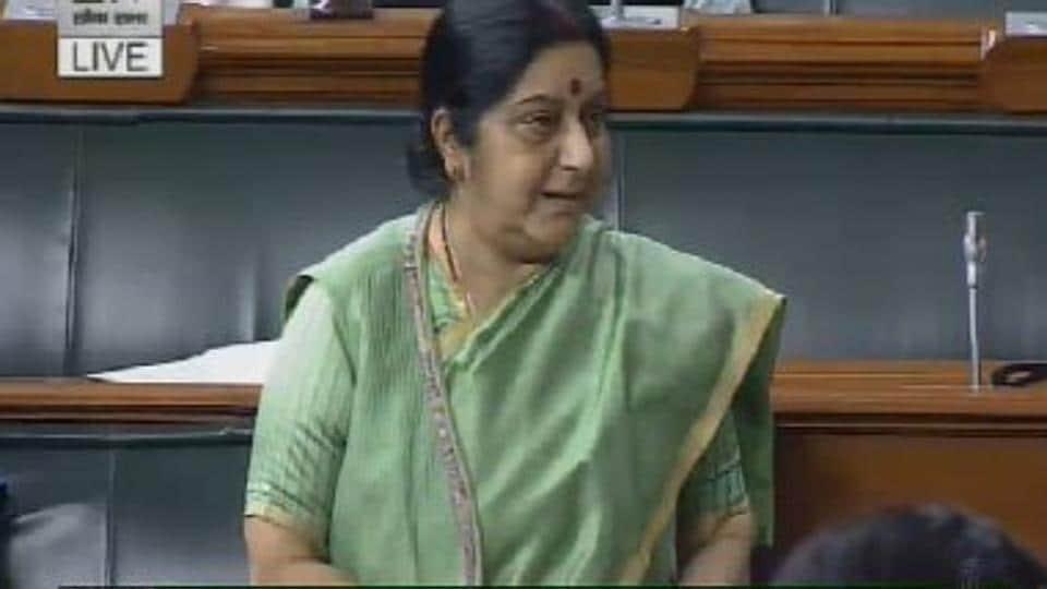 Sushma Swaraj,Iraq,Missing Indians