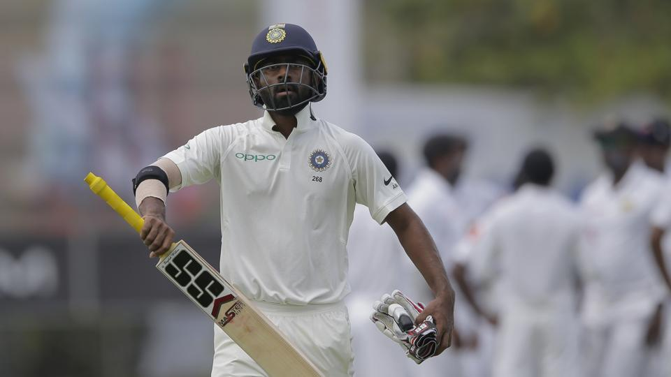 But the visitors got off to a poor start as opener Abhinav Mukund was dismissed early on in the innings. (AP)