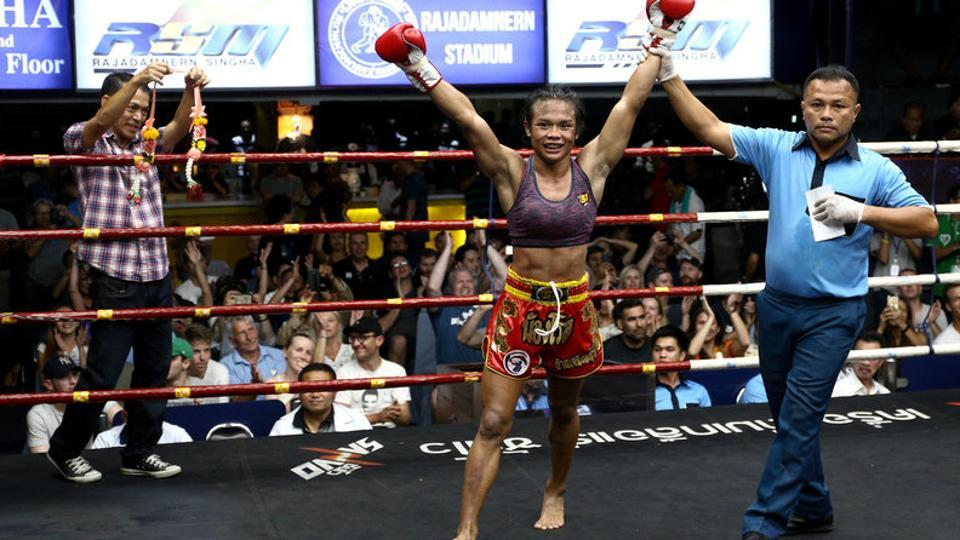 Rose is not Thailand's first transgender boxer. That was Parinya 'Nong Toom' Charoenphol, the subject of the 2004 film 'Beautiful Boxer'. Toom eventually ran a boxing school and Rose someday hopes to do the same. (Athit Perawongmetha / REUTERS)